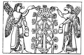 Ассирийское «Мировое Древо».