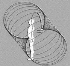«Грибовидная» Конфигурация Био-Энергетического поля среднестатистического человека