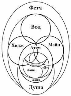 Скандинавская конфигурация тонких тел человека.